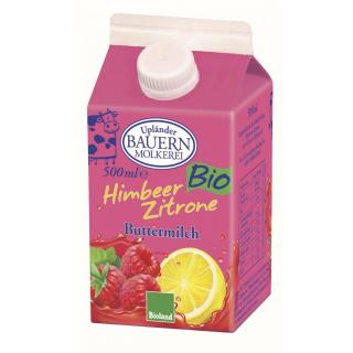 Buttermilch Himbeer Zitrone